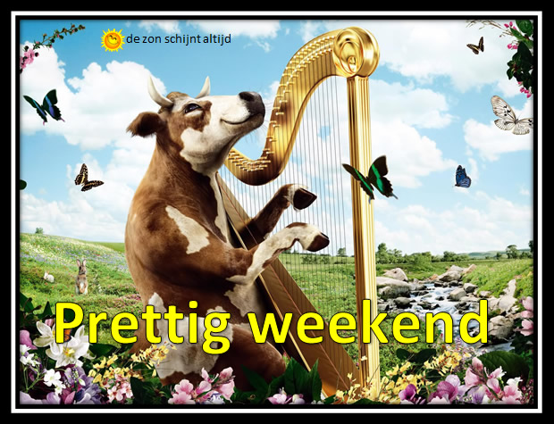 Prettig weekend Plaatjes