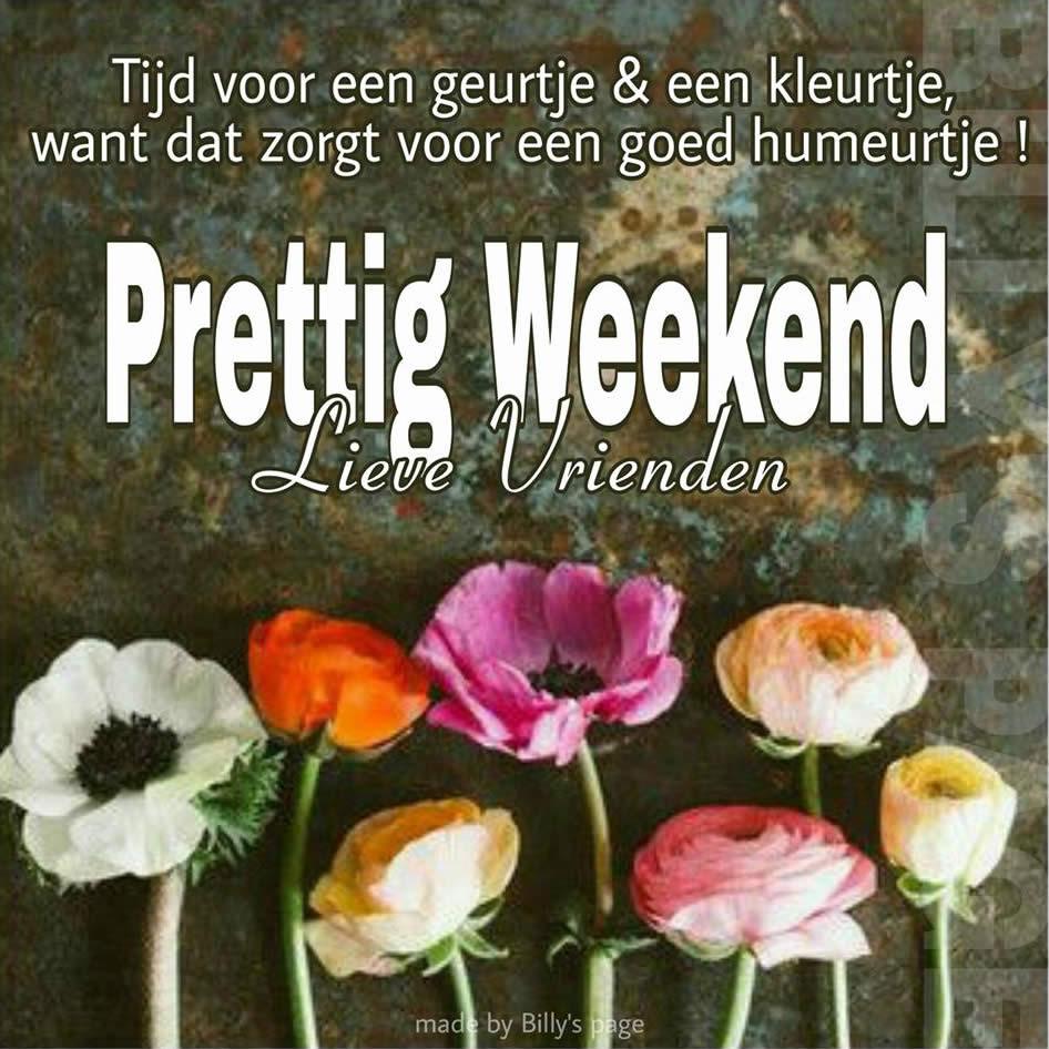 Tijd voor een geurtje & een kleurtje, want dat zorgt voor een goed humeurtje ! Prettig Weekend Lieve Vrienden