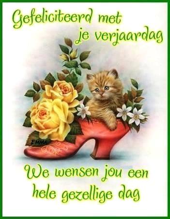 van harte gefeliciteerd met je verjaardag gedicht Verjaardag plaatje #11694   BesteKrabbels.nl van harte gefeliciteerd met je verjaardag gedicht