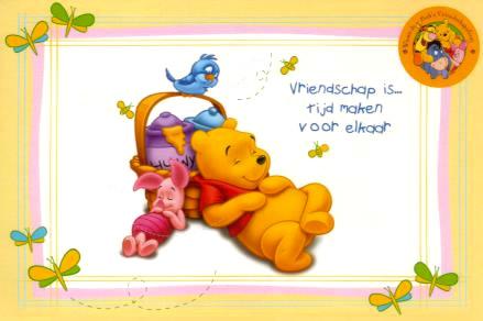 Vriendschap is... tijd maken...