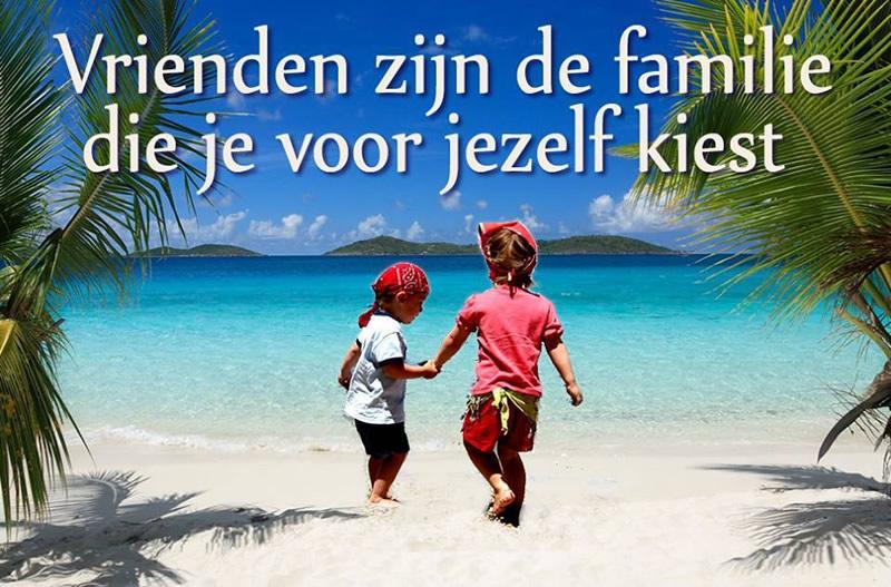 Vrienden zijn de familie die je voor jezelf kiest