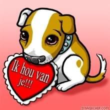 Ik hou van je!!!
