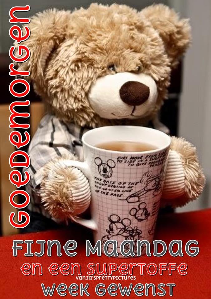 Goedemorgen Fijne Maandag en...
