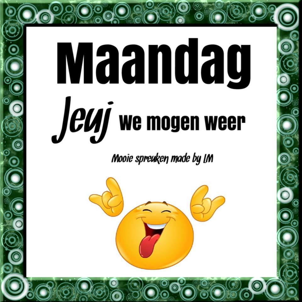 grappige maandag spreuken ᐅ 82 Maandag Plaatjes en Gifs voor Facebook   BesteKrabbels.nl grappige maandag spreuken