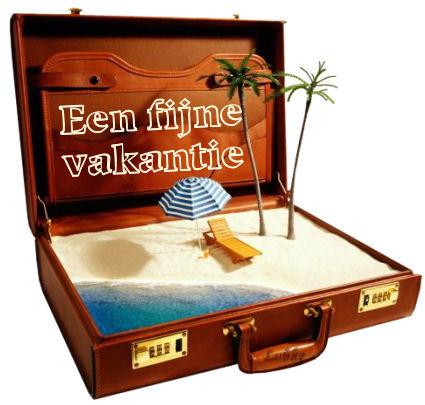 Een fijne vakantie
