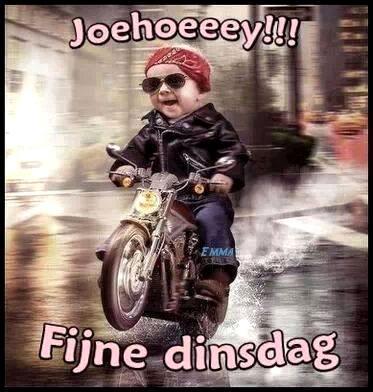 Joehoeeey!!! Fijne dinsdag