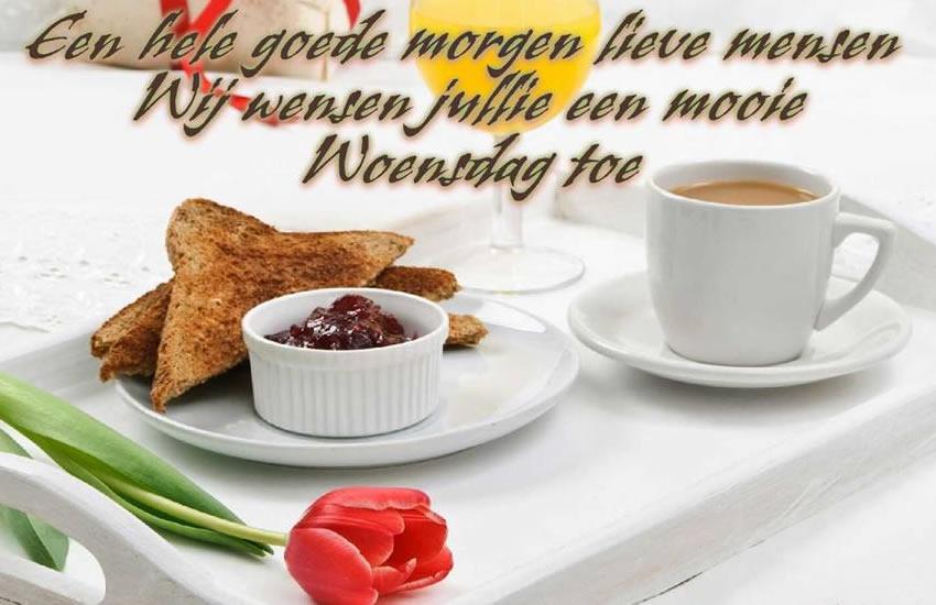 Een hele goede morgen lieve...