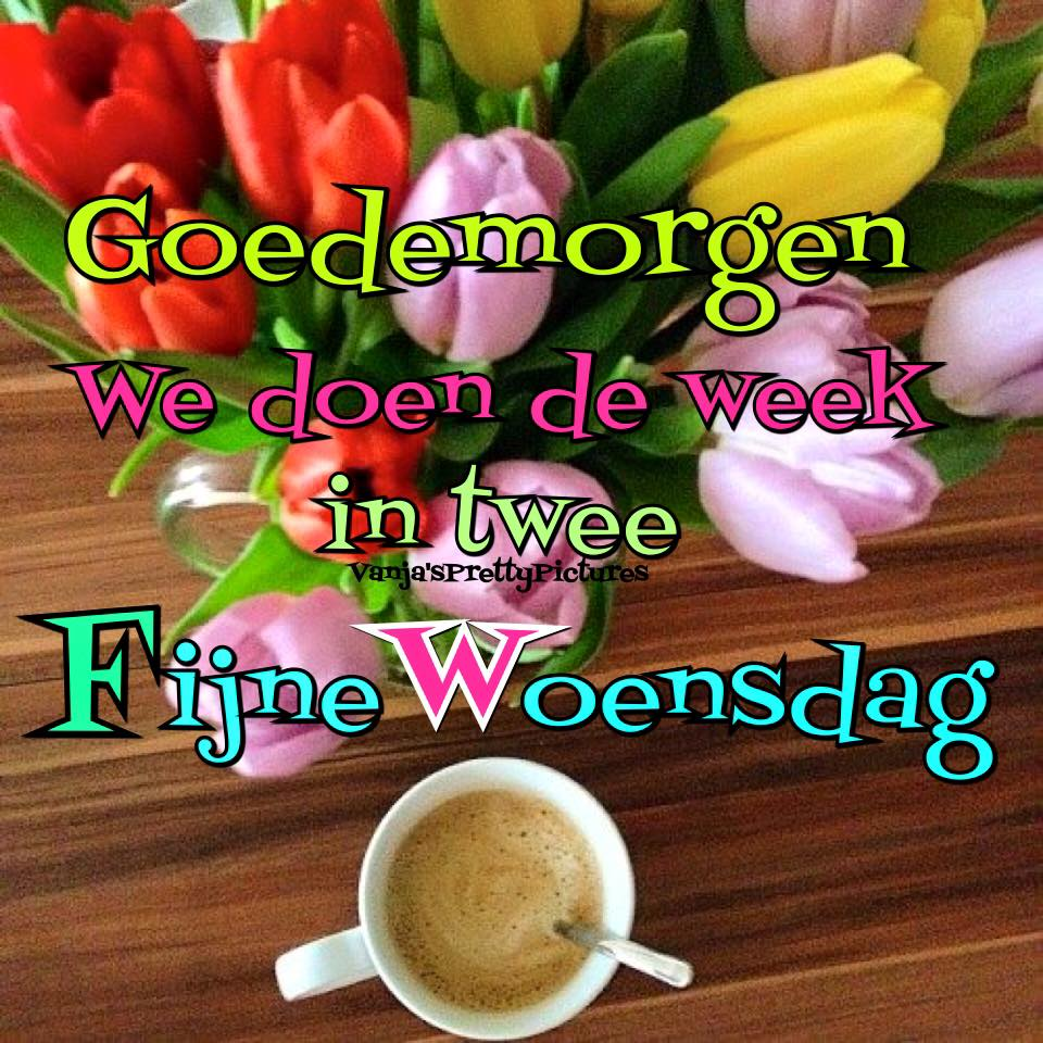Goedemorgen. We doen de week...