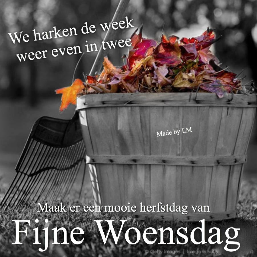 We harken de week weer even in...