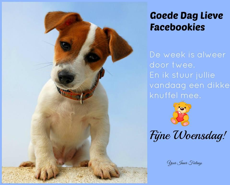 Goede dag lieve facebookies De week is...