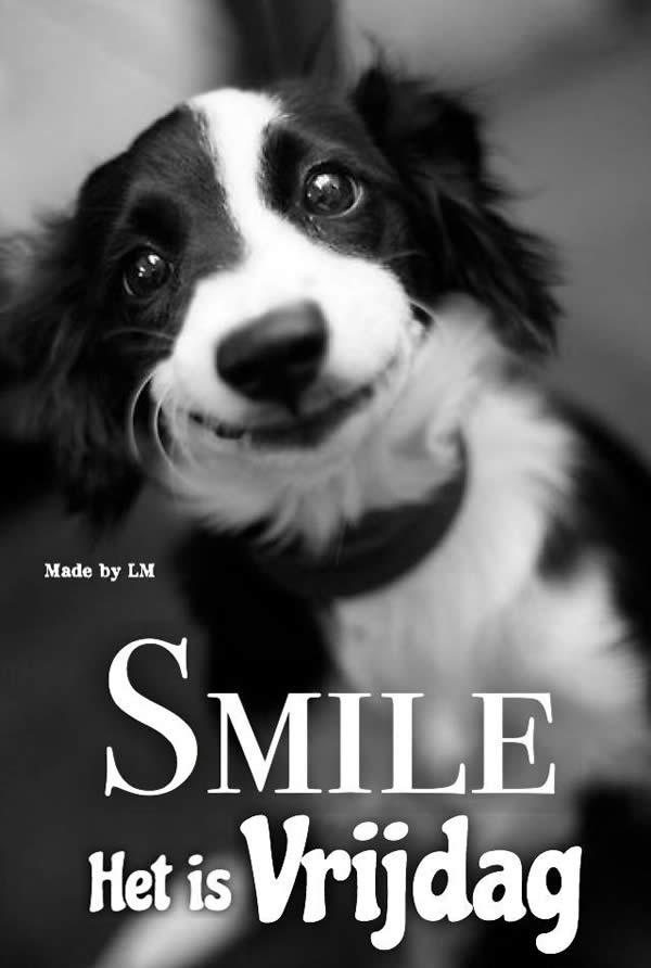 Smile. Het is Vrijdag.