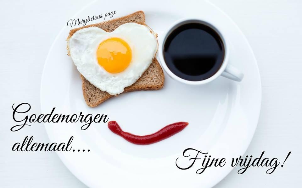 Goedemorgen allemaal... Fijne...