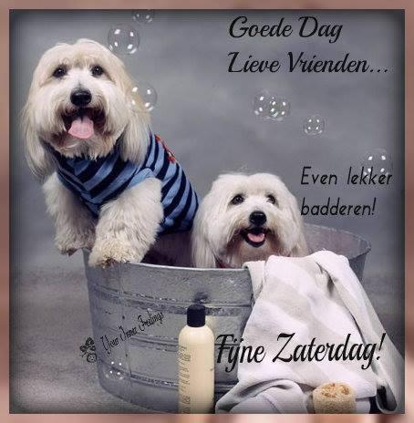 Goede dag lieve vrienden... Even lekker badderen! Fijne Zaterdag!