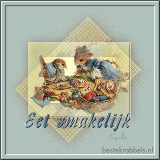 Eet smakelijk krabbel Plaatjes