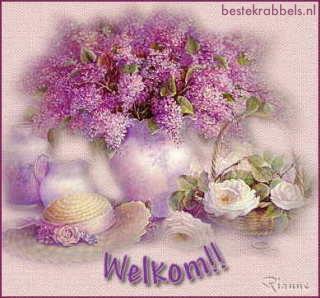 Welkom!!