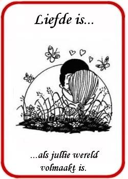 Liefde is... krabbel Plaatjes