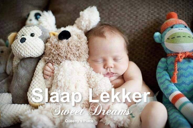 Slaap Lekker. Sweet Dreams