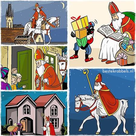 Sinterklaas plaatje #6636