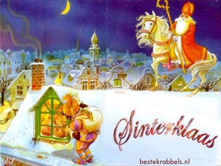 Sinterklaas plaatje 10