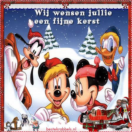 Wij wensen jullie een fijne kerst
