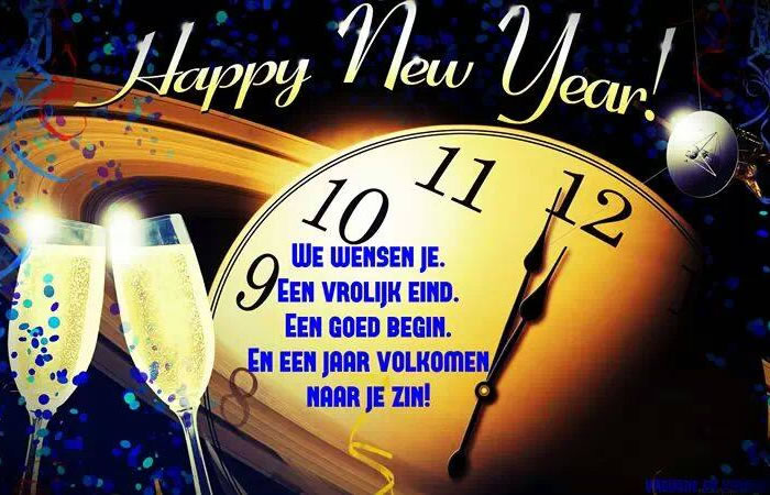 Happy New Year! We wensen je...