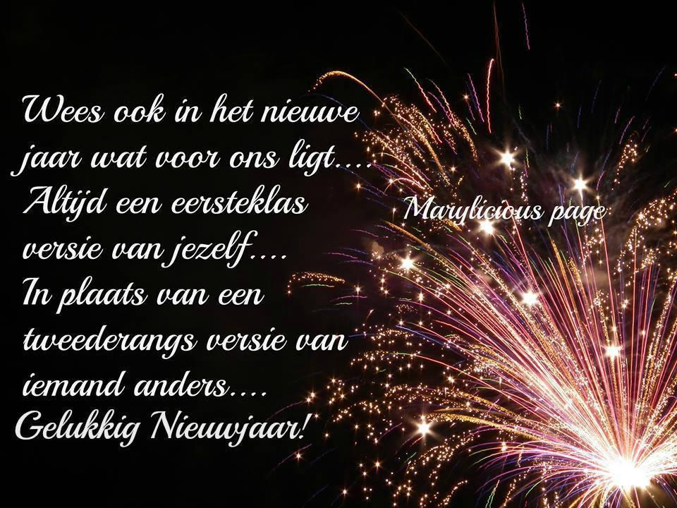 Wees ook in het nieuwe jaar...