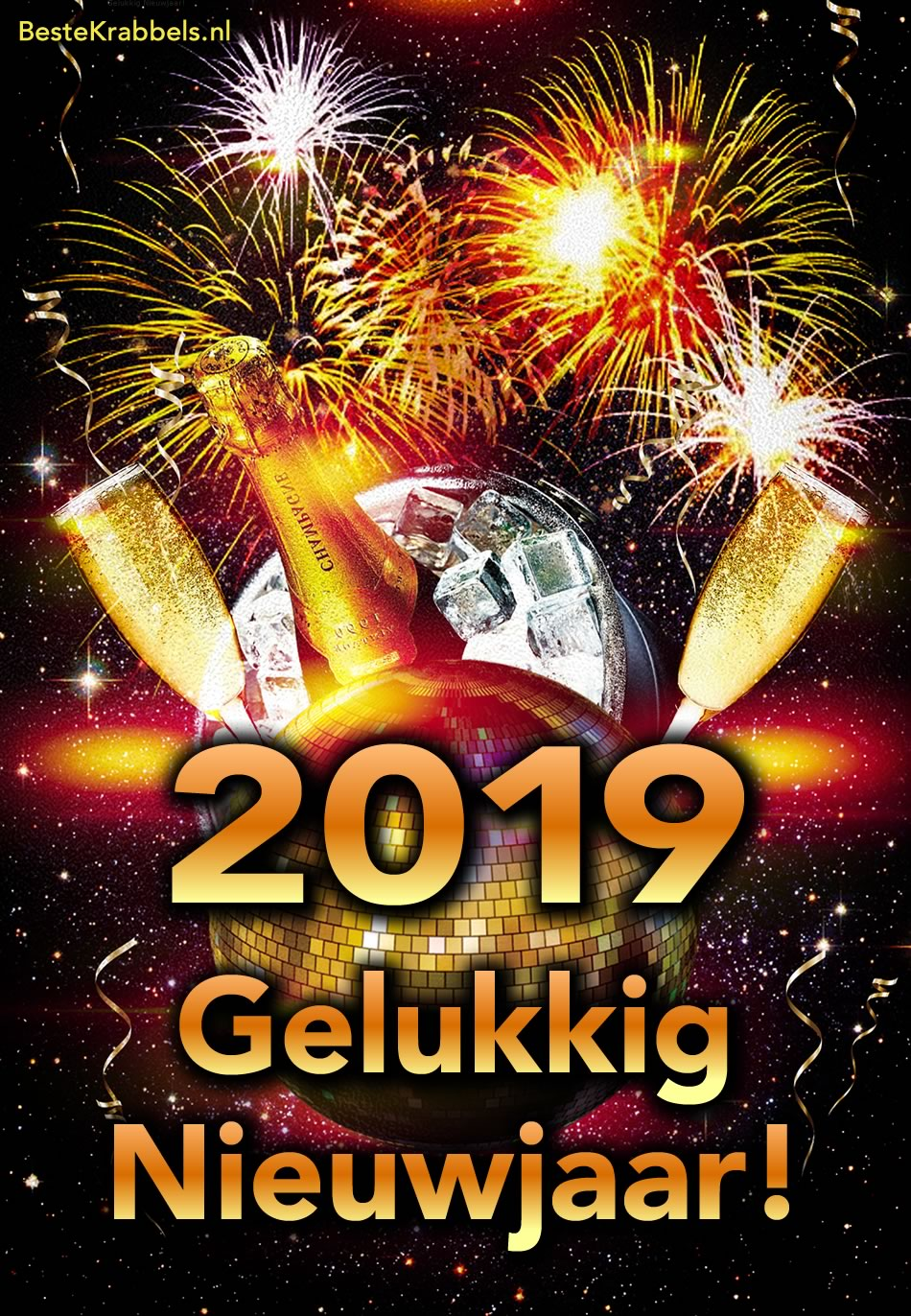 2019 Gelukkig Nieuwjaar!
