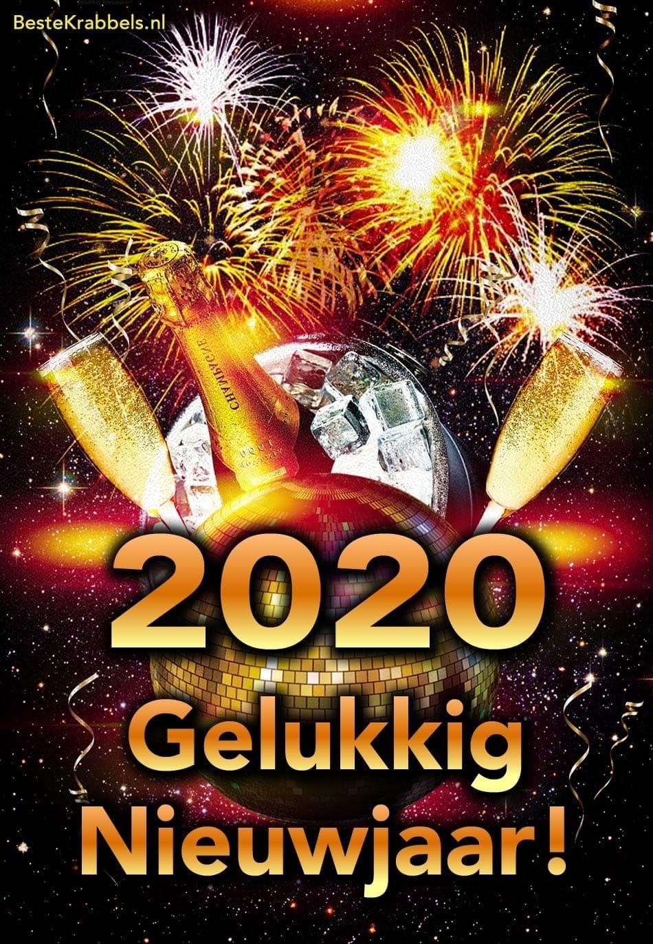 2020 Gelukkig Nieuwjaar!
