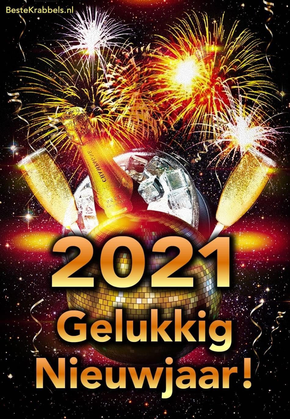 2021 Gelukkig Nieuwjaar!