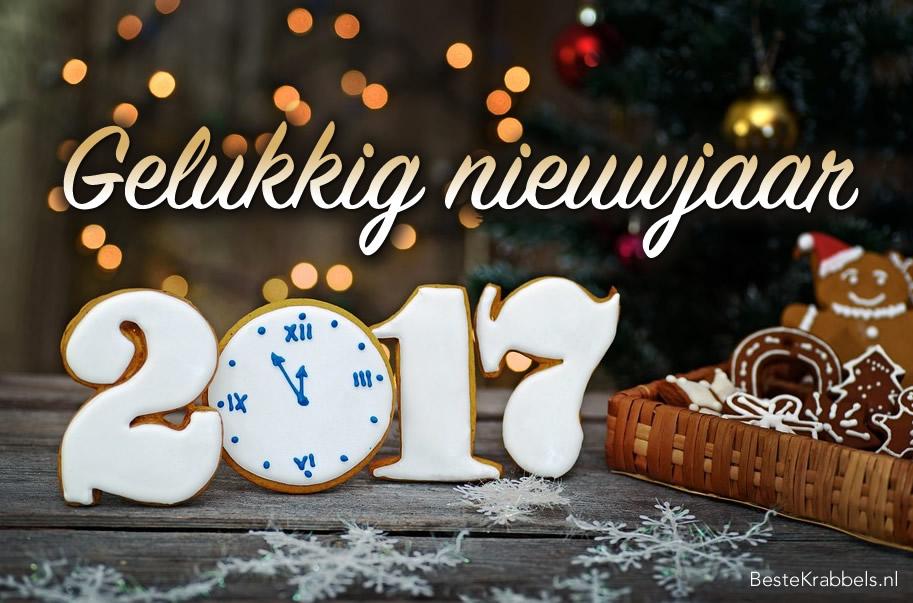 Gelukkig nieuwjaar 2017 Plaatjes