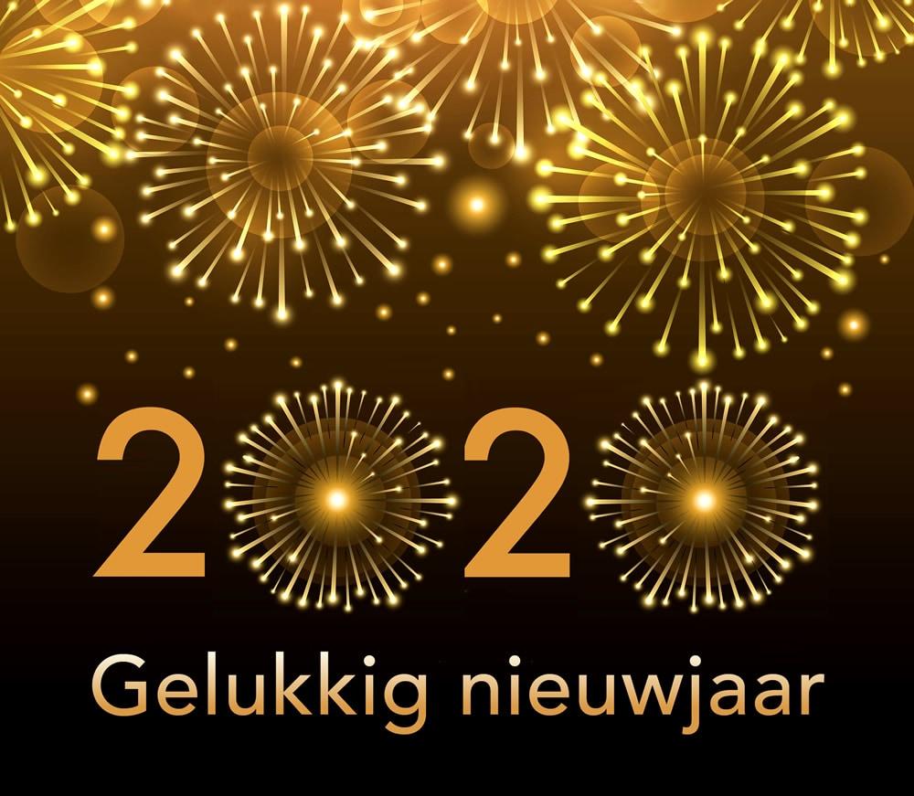 2020 gelukkig nieuwjaar