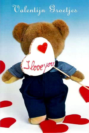 Valentijn Groetjes I love you