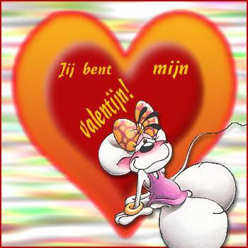 Jij bent mijn valentijn!
