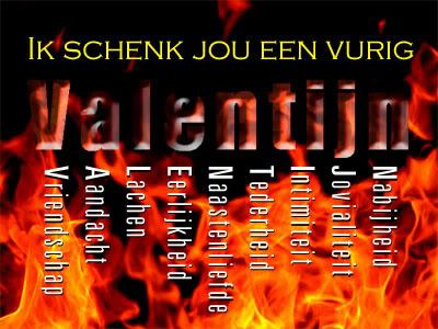 Ik schenk jou een vurig valentijn