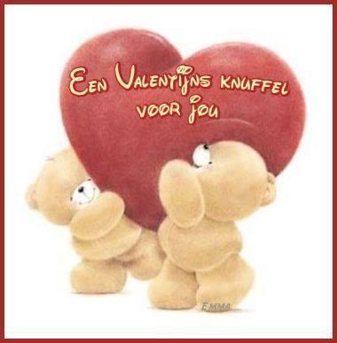 Een Valentijns knuffel voor...