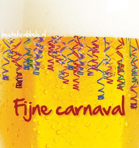 Fijne carnaval