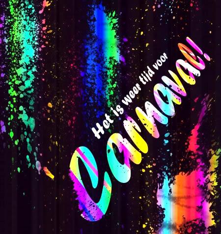 Het is weer tijd voor Carnaval!