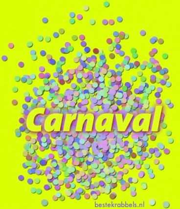 Carnaval plaatje #8072