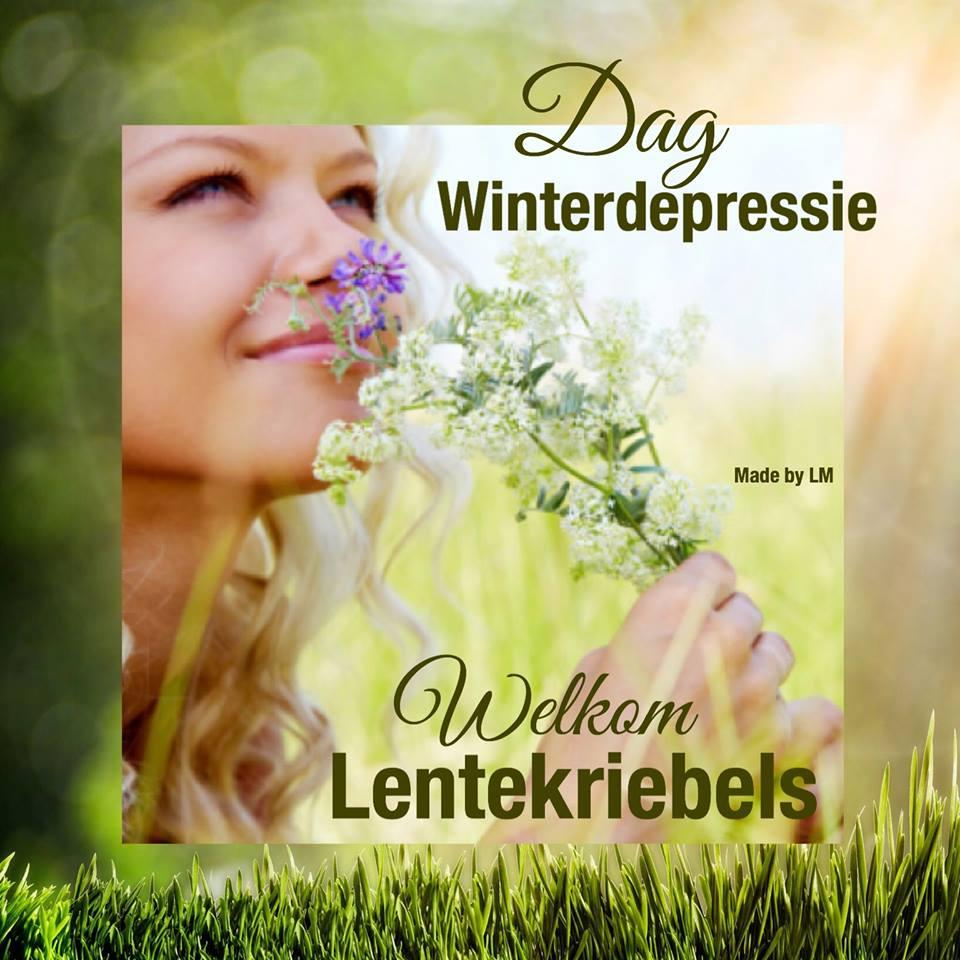 Dag Winterdepressie, Welkom Lentekriebels Plaatjes