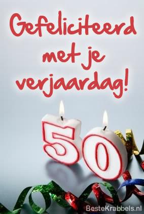 Gefeliciteerd met je verjaardag! 50