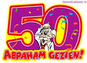 Favoriete 84 50 jaar Plaatjes en Gifs voor Facebook - BesteKrabbels.nl @TQ66