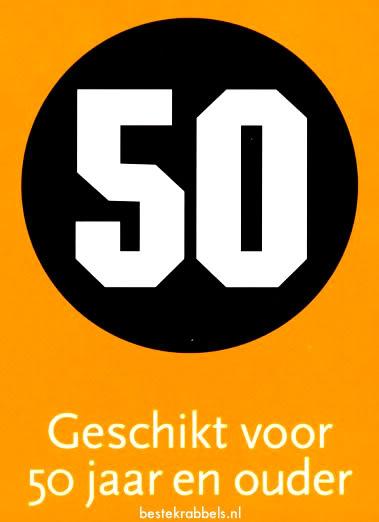 50 Geschikt voor 50 jaar en...