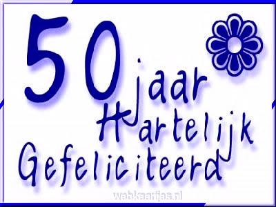 50 jaar Hartelijk...