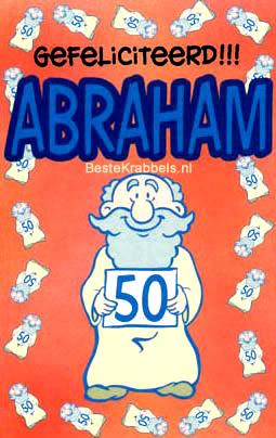 Gefeliciteerd!!! Abraham 50
