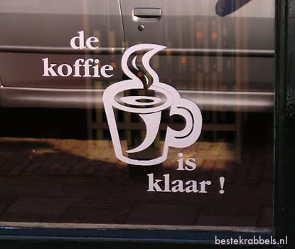 Koffie plaatje 1