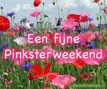 Een fijne Pinksterweekend