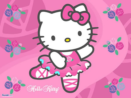 Ballet Dansende Kitty
