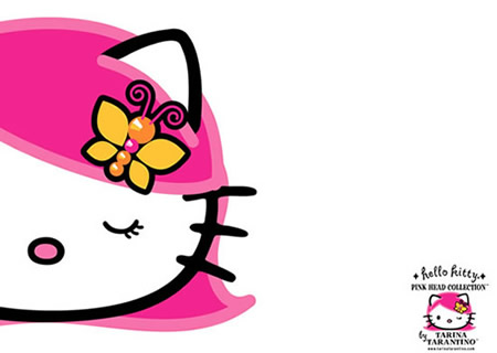 Hello Kitty met Vlinder in...