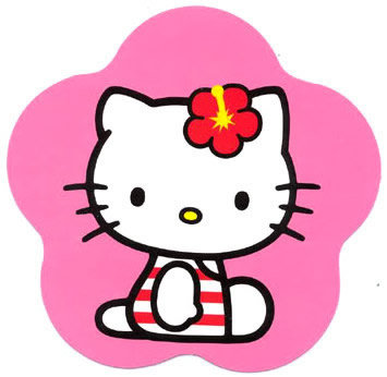 Hello Kitty in Badpak