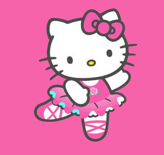 Hello Kitty Danst in het...